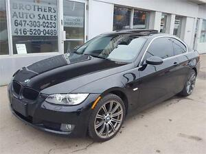 2007 BMW 328XI COUPE | 6 SPEED | BLACK ON BLACK | ALL WHEL DRIVE
