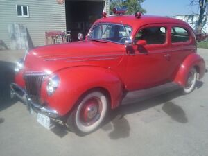 Back to The Future!!  1939 Ford Custom!!!