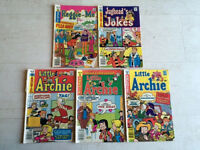 Archie Series Comic Books (5)