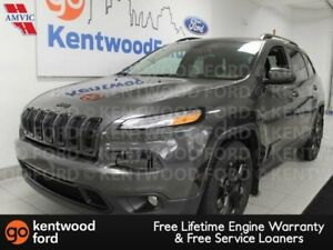 2016 Jeep Cherokee North with heated power leather seats and a b