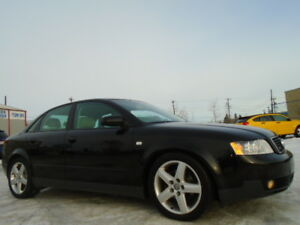 2004 Audi A4 QUATTRO-AWD-LEATHER-SUNROOF-ONE OWNER CAR-ONLY 147K