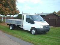 Ford Transit 2.2TDCi ( 125PS ) ( EU5 ) ( RWD ) 350 DRW ALLOY TIPPER