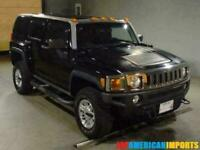 FRESH IMPORT 2006 HUMMER H3 3.5 V6 AUTOMATIC 4WD BLACK H2
