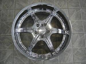 """Kit roues de mag avec pneus neufs 20"""" #M06"""