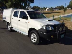 2012 Toyota Hilux SR Dual Cab Hermit Park Townsville City Preview