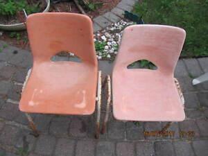 Vintage Heidt Steel Products Grade School Childs Chair 1970-80s