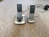 PANASONIC CORDLESS PHONES WITH ANSWER MACHINE