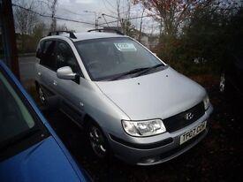 2007 Hyundai Matrix 1.6 Petrol MOT'd Oct £795 BARGAIN