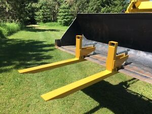 clamp to bucket PALLET FORKS, 2 sizes available, FREE SHIPPING St. John's Newfoundland image 2
