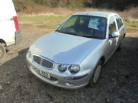 Rover 25 1.4i 16V Impression (silver) 2004