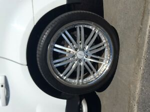 Range Rover-BMW Vossen wheels. Cheap