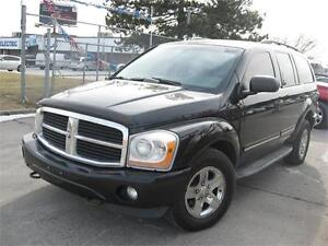2005 Dodge Durango Limited 4WD 7 PASSENGER LEATHER ACCIDENT FREE
