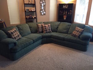 for sale sectional couch & love seat
