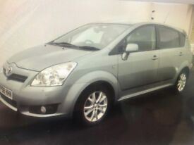 2009 Toyota Corolla Verso 1.8 SR Multimode 5dr, 7 SEATER, AUTOMATIC, VERY LOW MILEAGE,
