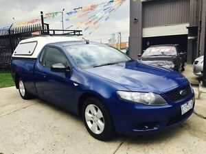 2010 Ford Falcon FG (LPG) 4 Speed Auto Seq Sportshift Utility Brooklyn Brimbank Area Preview