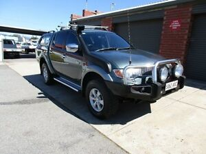 2006 Mitsubishi Triton ML GLX-R (4x4) Green 5 Speed Manual 4x4 Holden Hill Tea Tree Gully Area Preview