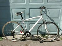 """ROAD BIKE 21-SPEED 19""""-INCH ALUMINUM FRM, 700-TIRES RALEIGH"""
