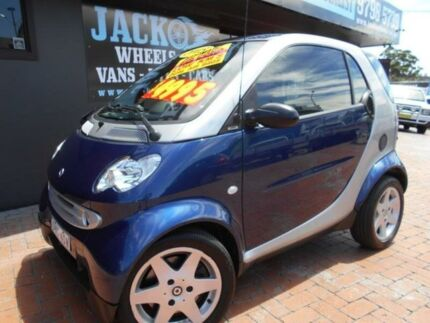 2005 Smart ForTwo Coupe Blue 6 Speed Auto Sequential Coupe