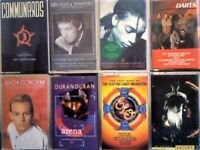 COMMUNARDS, M CRAWFORD, T.T. D'ARBY, DARTS, JASON DONOVAN, DURAN DURAN, ELO, ENIGMA, CASSETTE TAPES.
