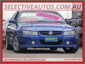 2005 Holden Commodore VZ 05 Upgrade SV6 Blue 5 Speed Auto Active Select Sedan Homebush Strathfield Area Preview