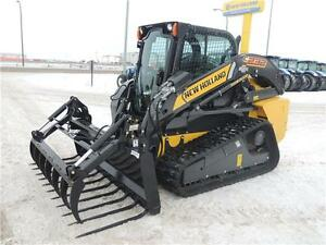 """2015 84"""" HLA Manure Fork w/ Utility Grapple for Skid Steers"""