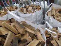 OAK FIREWOOD. Hardwood tonne bags. Delivered. STILL AVAILABLE. SEASONED
