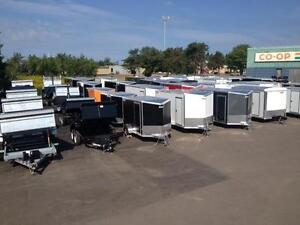 WORK & PLAY ENCLOSED TRAILERS- IN STOCK