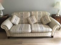 Luxury 4 piece suite. Good condition. 2 sofas and 2 armchairs