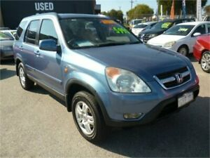2003 Honda CR-V MY03 (4x4) Sport Silver 4 Speed Automatic Wagon Wangara Wanneroo Area Preview