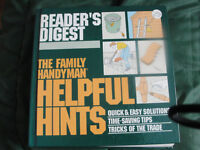readers digest the family handyman helpful hints book