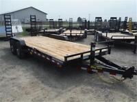 14K - 7 x 20 Equipment Trailer *NO PAYMENTS FOR 90 DAYS OAC*
