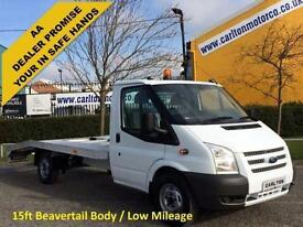 2013 / 13 Ford Transit 125 T350L EF Recovery-Beavertail-Vehicle-SRW