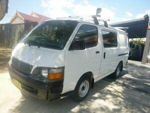 1999 Toyota Hiace RZH103R SWB White 5 Speed Manual Van