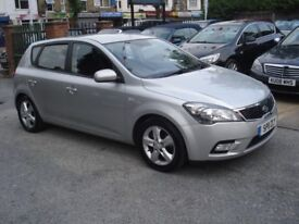 Kia CEED 1.6 CRDi 2 5dr, 2011 model, 94K, Long MOT, New clutch, Low insurance & tax