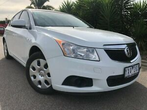 2012 Holden Cruze JH MY12 CD White 6 Speed Automatic Hatchback Hoppers Crossing Wyndham Area Preview