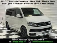 2017 17 VW Volkswagen Caravelle 150bhp SWB DSG Executive R Edition ~ Candy White