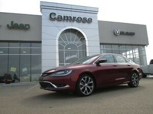 2016 chrysler 200c sunroof, bluetooth, navigation, sirius XM, h