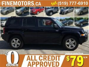 2010 JEEP PATRIOT SPORT * 4X4 * POWER ROOF * NORTH EDITION London Ontario image 3