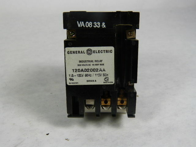 General Electric CR122A02702AA Time Delay Relay  USED