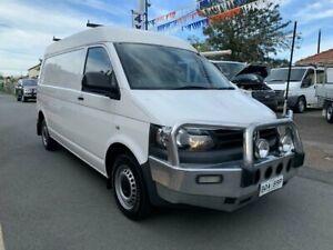 2011 Volkswagen Transporter T5 MY12 TDI 340 LWB Mid White 6 Speed Manual Van Waratah Newcastle Area Preview
