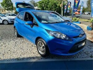 2010 Ford Fiesta WS Econetic Blue 5 Speed Manual Hatchback South Lismore Lismore Area Preview