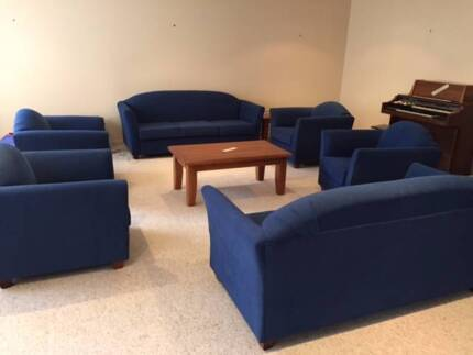 Lounge suite: 3 seater + 2 singles. Very comfy. Great condition. Camperdown Inner Sydney Preview