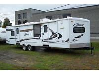 ROULOTTE  COUGAR 32.5 pieds 2011