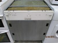 **INTEGRATED WHIRLPOOL DISHWASHER+FULL STEEL BODY+VERY CLEAN+GREAT CONDITION+CAN DELIVER+WARRANTY**