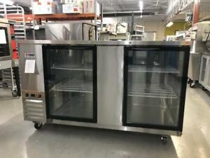 BRAND NEW BACK BAR COOLERS