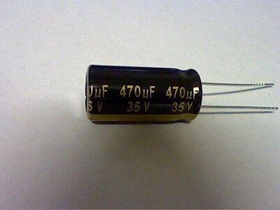 Qty 2 470uf 10v Panasonic Fm 8mm X 11.5mm 105c Mbd Lcd Lcd Tv Ps Capacitor