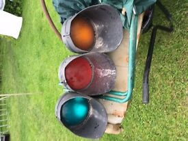 Red Amber Green traffic lights