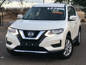 2017 Nissan X-Trail T32 Series II ST X-tronic 2WD White 7 Speed Constant Variable Wagon Hillvue Tamworth City Preview