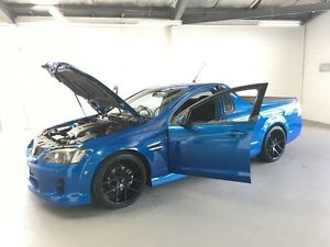 2009 Holden Commodore VE MY09.5 SV6 Blue 5 Speed Automatic Utility Frankston Frankston Area Preview