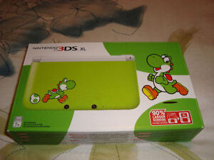 3DS XL YOSHI LIMITED EDITION GREEN